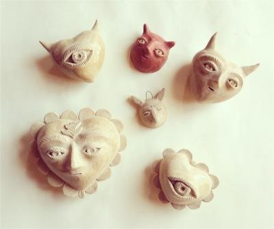 Fanel Reyes Ceramics all