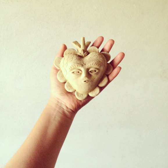 Fanel Reyes Ceramics heart