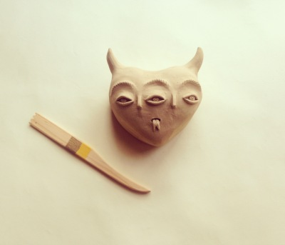Fanel Reyes Ceramics tridiablo